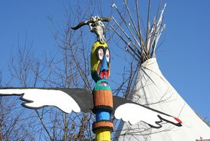 Native American Indian tepee