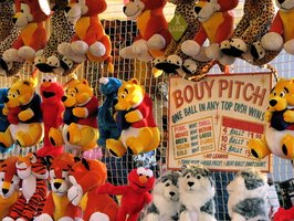 Carnival games can be customized to match the theme of the carnival.