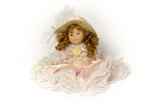 Restringing a vintage doll will improve its quality and longevity.