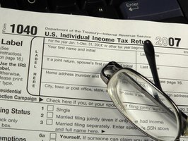 Use a Form 1040 Schedule A to itemize your deductions.