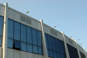 Proper ventilation and cooling of large buildings can be difficult.
