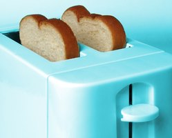 how to clean an old toaster