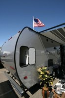 Rubber camper roofs are actually ethylene propylene diene monomer.