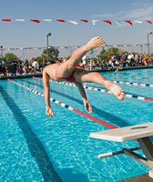 Take the plunge into college athletics by researching the scholarship opportunities.