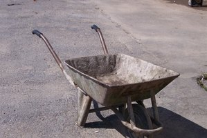 Kids will love the opportunity to craft their own toy wheelbarrow.