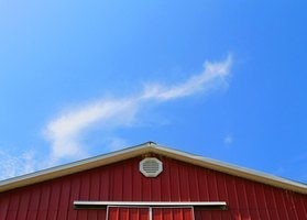 Soffit gives your pole barn a clean and finished look.