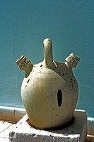 Ancient Greek pottery has many different elements, both practical and decorative.