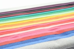 Tissue paper comes in a wide variety of colors to match any wedding theme.
