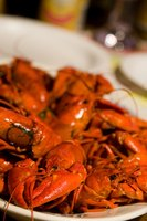 Serve crayfish whole in their shells.