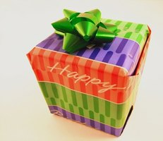 Traditionally, people did not give birthday gifts in Japan.