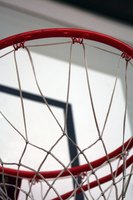 Install a hoop onto your garage to host a basketball party in your driveway.