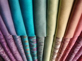 Silk is available in a broad variety of colors, patterns and styles.