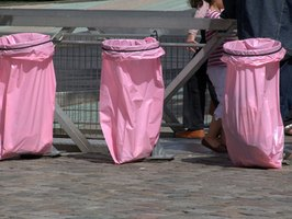 Trash bags are popular because of their capacity to hold garbage securely without leakage or spillover.