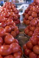 Tomatoes are a major crop in Uganda.
