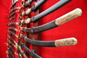Learn how to sharpen a samurai sword.