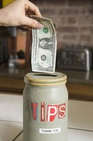 Filling up the tip jar adds satisfaction to your workday.