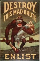 The United States created and distributed more propaganda posters than any other nation during World War I.