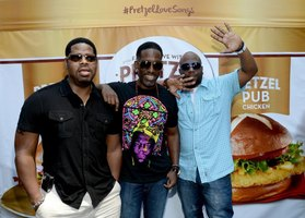 R&B Group Boyz II Men are a modern trio famous for their emotional ballads.