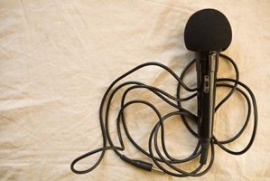 High-impedance microphones are seldom used in professional audio applications.