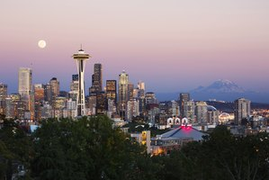 Visit the Space Needle at sunset to catch both daytime and nighttime skyline views.