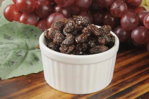 Add raisins as is, or plump them in liquid for juicy results.