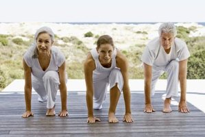 Senior citizens can increase bone density with weight-bearing exercises.