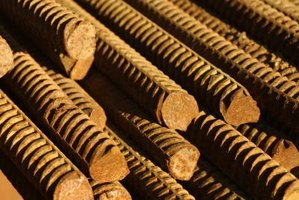 Rebar strengthens concrete.