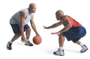 The crossover dribble is a key one-on-one basketball move.