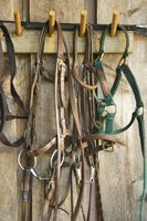 Homemade Leather Headstalls