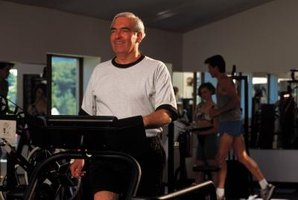 Treadmill walking can improve cardiovascular health in men over 60.