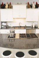 Help prevent etching on your granite counters by wiping up acidic spills quickly.