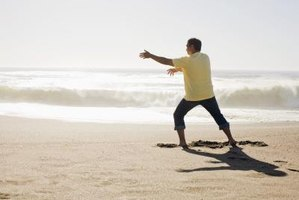 Practice tai chi to improve your balance.