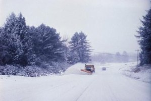 Snow plow drivers experience limited visibility, meaning your mailbox could be at risk.