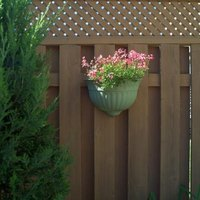 Board-on-board fences are also known as shadow-box fences.