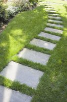 Use lightweight concrete to create decorative bricks and statuary for your garden.