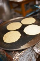 Cook several tortillas at once using a large skillet or griddle.