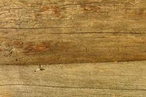 Wood logs can be left as-is, or stained with natural oils to preserve their color.