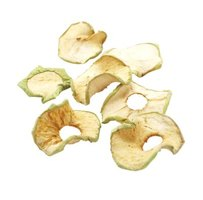 Dried apple rings are used for wreaths, potpourri and more.