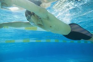 Endurance swimmers will use ladders to fight the boredom of long-distance swims.