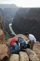 Enjoy a view of the Colorado River from campsites on the Grand Canyon's west side.