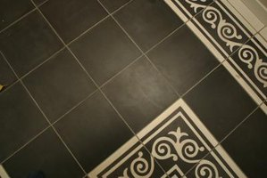 Tile patterns can be laid in a variety of ways for diversity and style.