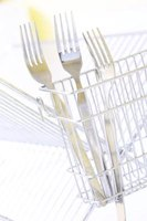 Broken silverware baskets can be fixed with just one item and a few seconds.