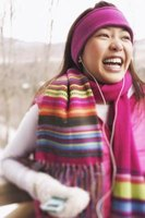 Acrylic is an easy-care fabric choice for scarves.