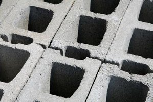 Concrete masonry units, CMUs, are sometimes called cinder blocks.