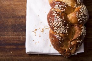 Challah bread is a staple of many Shabbat dinners.