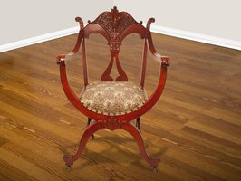 Appliques add fancy details to furniture, emulating the look of carved antiques.