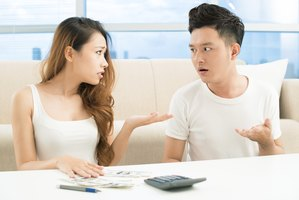 Financial stress can lead to distrust in a marriage.