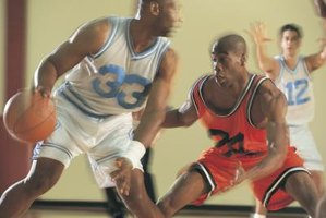 Hand speed can help a defender knock away a basketball.