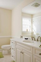 A small bathroom can be remodeled quite cheaply.