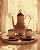 Afternoon tea became a popular social event in Victorian times